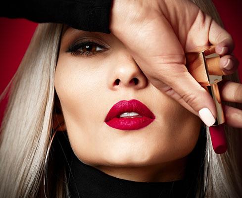 Illustration rouge à lèvres Hermès