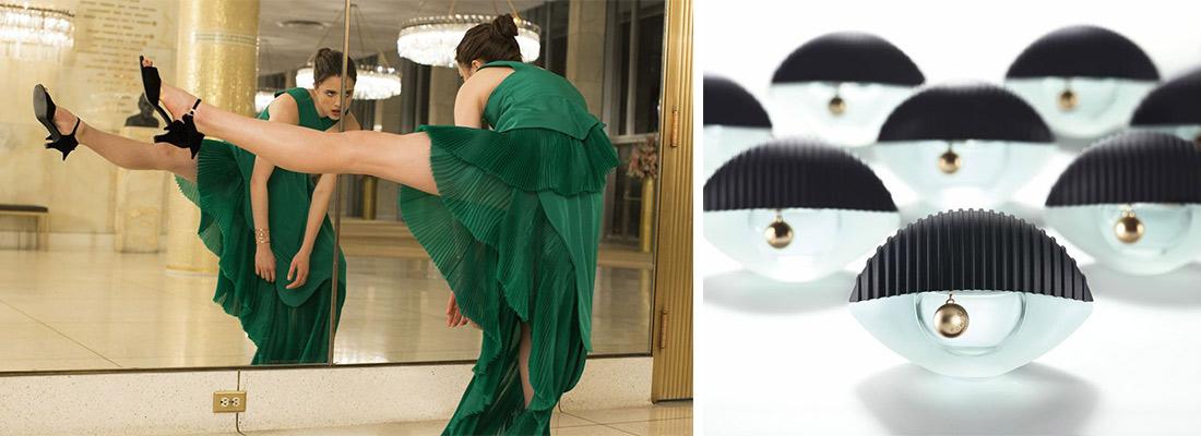 publicité parfum World de Kenzo avec Margaret Qualley